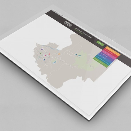 UI Interactive Map Design