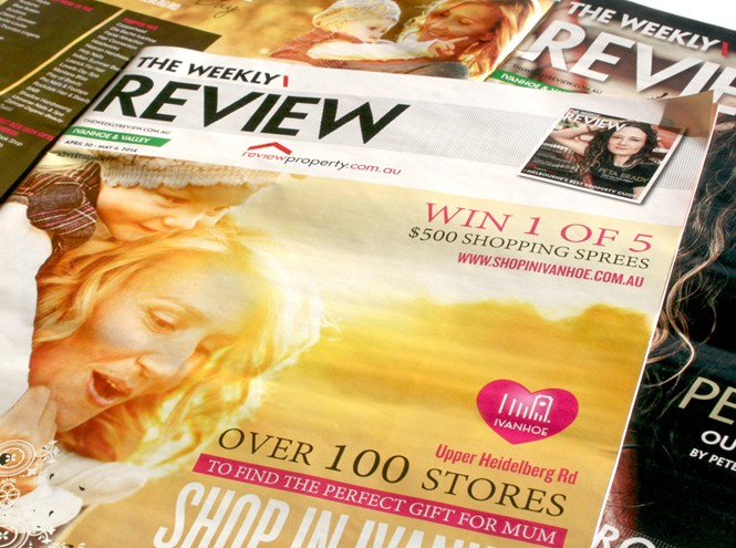 Weekly Review Advertising