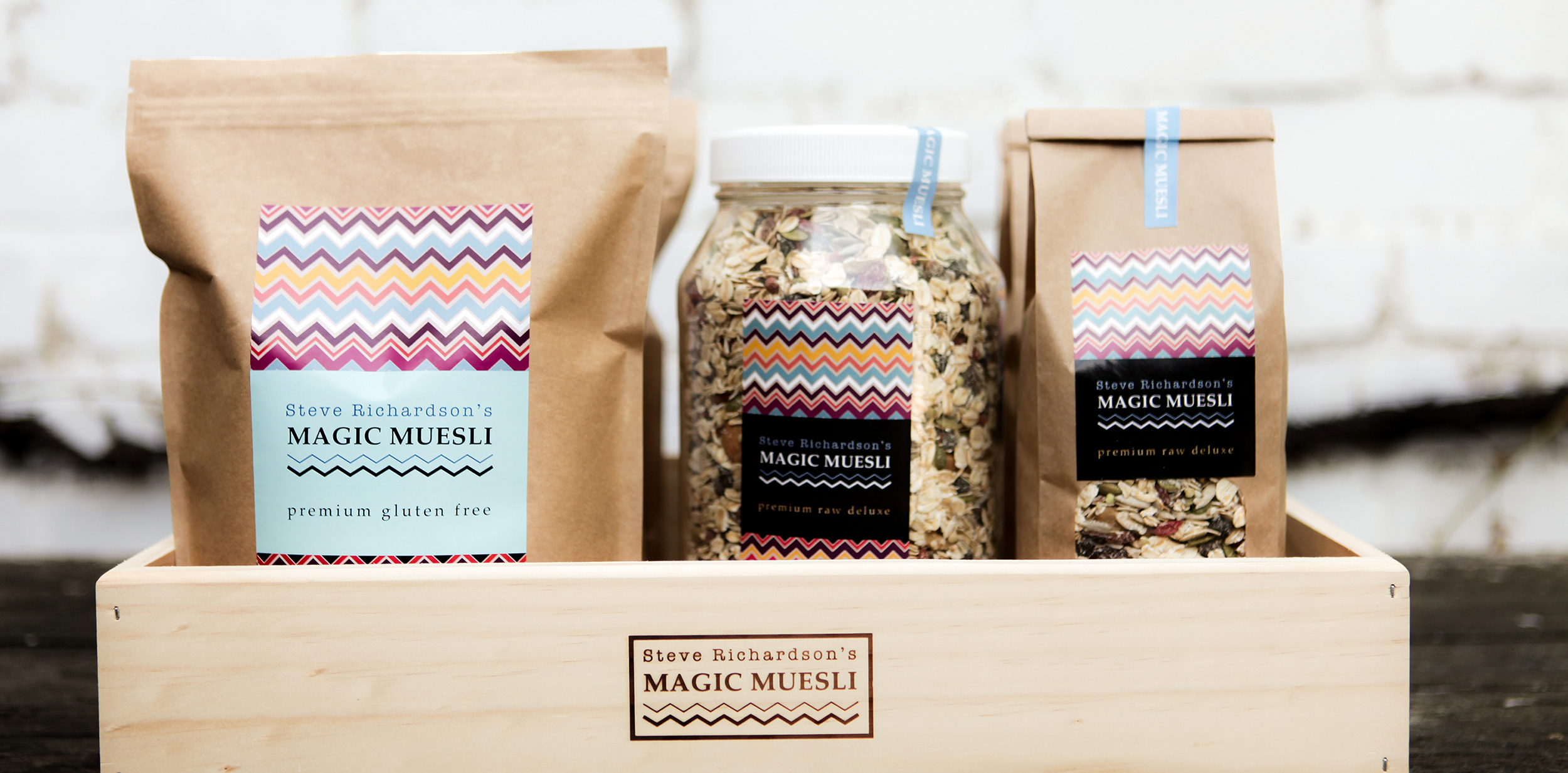 Steve Richardson's Magic Muesli