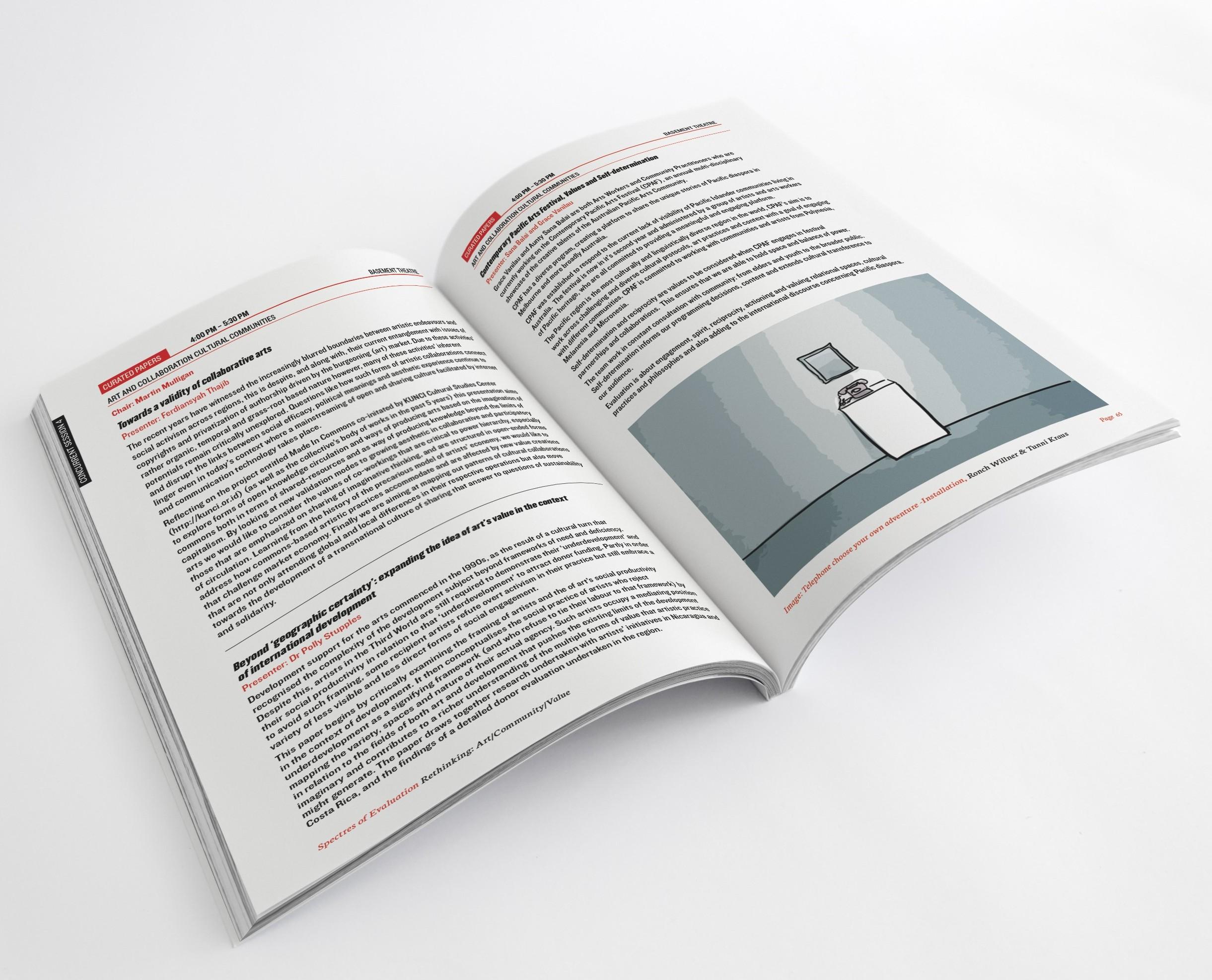 Conference Book Design
