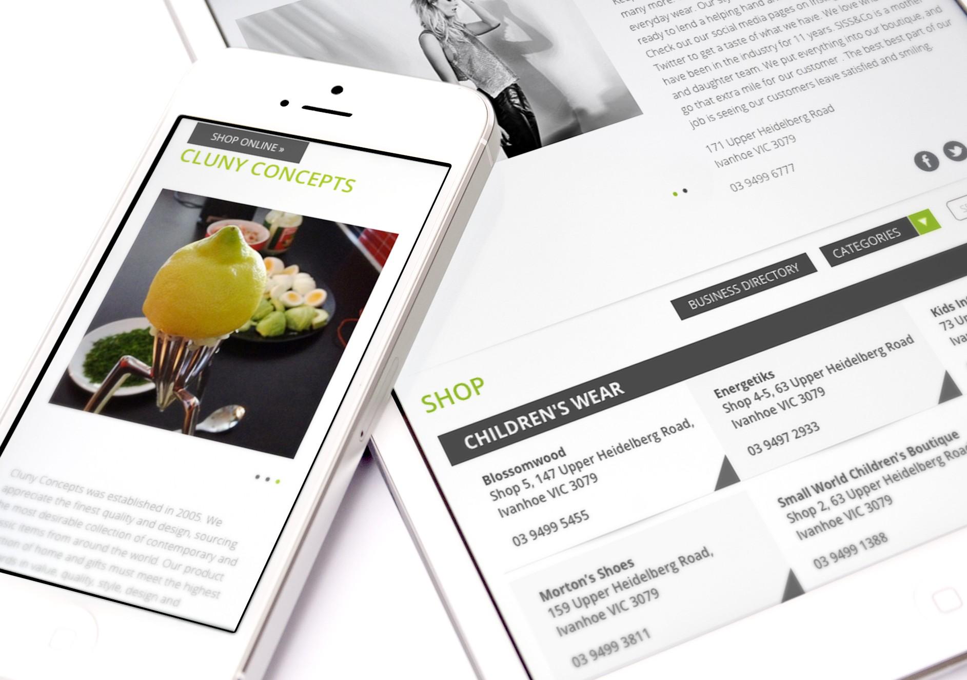 Ivanhoe Website Design